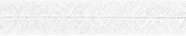 3m Schrägband Baumwolle Uni weiß gefalzt 40/20
