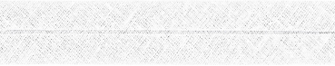 Schrägband Baumwolle Uni weiß gefalzt 36/20