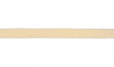 Flachkordel creme 15mm