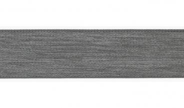 Gummiband UNI grau meliert 40mm