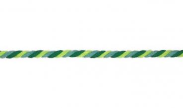 runde Kordel Multicolor 6mm GRÜN