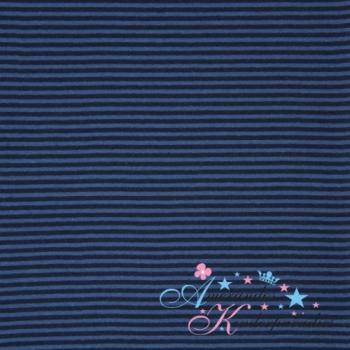 Ringelbündchen blau dunkelblau ca. 4mm breit