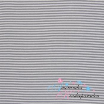 Ringelbündchen silber grau ca. 4mm breit