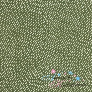 Baumwolljersey Autumn Bunny Kritzelstriche khaki von Swafing