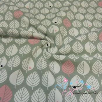 Sweat byGraziela Blätter rosa grau ~ NEU ~