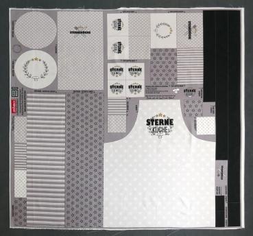 Canvas Happy Kitchen grau by Steinbeck - Küchen DIY Set