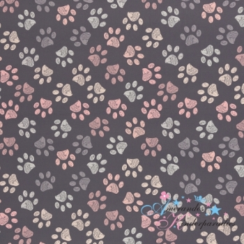 Softshell Fiete Tatzen rosa