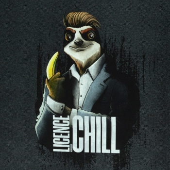 French Terry PANEL Licence to Chill ~ Thorsten Berger