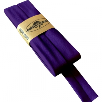 Schrägband Jersey UNI lila [947]