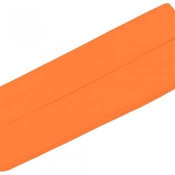 Schrägband Jersey UNI Neon orange [952]