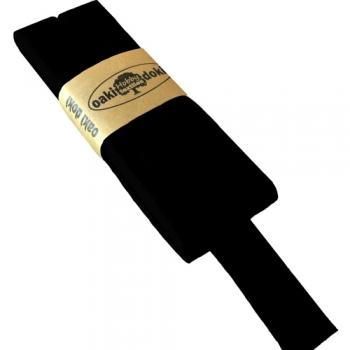 Schrägband Jersey UNI schwarz