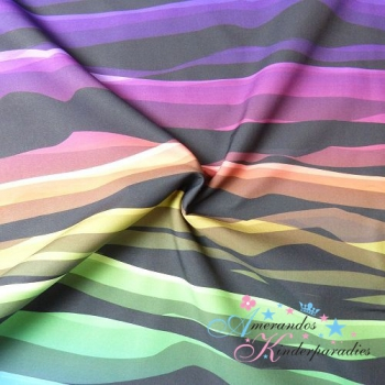 Softshell WAVY Waves bunt ~ Lycklig Design