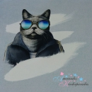 French Terry PANEL Sporty CAT by Thorsten Berger